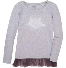 Tunika z tiulową falbanką dla dziewczynki 9-13 lat D72G529_1