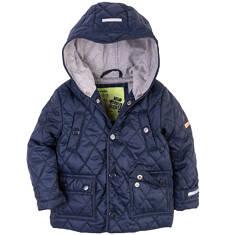 Pikowana kurtka z kapturem dla chłopca 2-3 lata N71A003_1