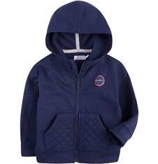 Bluza dresowa z kapturem na suwak dla dziecka 0-3 lata N71C009_2