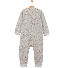Melanżowy pajac w deseń dla niemowlaka N61N024_1