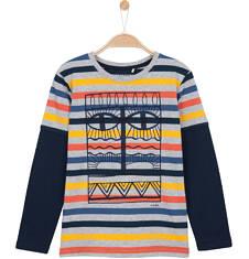 T-shirt z długim rękawem dla chłopca 3-8 lat C62G055_1