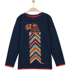 T-shirt z długim rękawem dla chłopca 3-8 lat C62G056_1