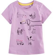 Bluzka z krótkim rękawem dla dziecka 0-3 lata N71G077_1