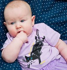 Bluzka z krótkim rękawem dla dziecka 0-3 lata N71G078_2