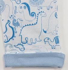 Dwustronne spodnie dla niemowlaka N61K013_1