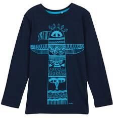 T-shirt z długim rękawem dla chłopca 3-8 lat C62G059_1