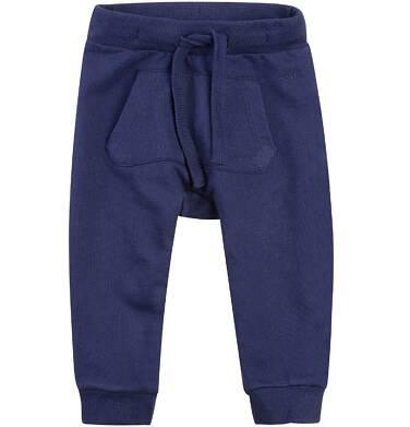Spodnie dresowe z obniżonym krokiem dla dziecka 0-3 lata N71K022_2