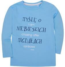 Lekko rozszerzana bluzka dla dziecka 2-4 lata N72G058_1