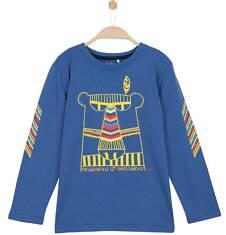 T-shirt z długim rękawem dla chłopca 3-8 lat C62G062_1