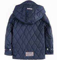 Pikowana kurtka z kapturem dla chłopca 4-8 lat C71A003_1