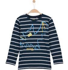 T-shirt z długim rękawem dla chłopca 3-8 lat C62G080_1