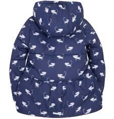 Dłuższa kurtka dla dziewczynki 3-8 lat D72A003_1