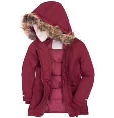 Długa kurtka zimowa dla dziewczynki 3-8 lat D72A016_1
