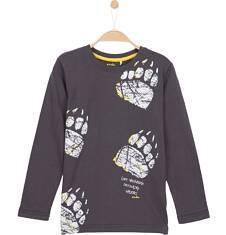 T-shirt z długim rękawem dla chłopca 9-12 lat C62G605_1