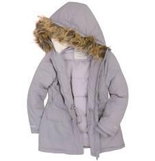 Długa kurtka dla dziewczynki 3-8 lat D72A016_2