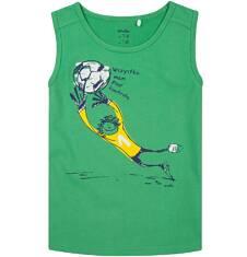 T-shirt bez rękawów dla chłopca 9-13 lat C71G571_1