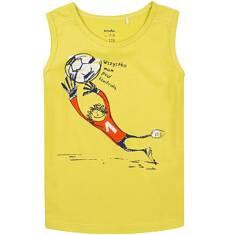 T-shirt bez rękawów dla chłopca 9-13 lat C71G572_1