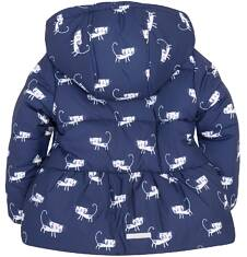 Dłuższa kurtka dla dziewczynki 2-4 lata N72A007_1