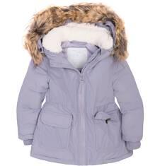 Długa kurtka dla dziewczynki 2-4 lata N72A014_1