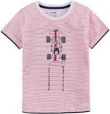 T-shirt z kontrastowym wykończeniem dla chłopca 9-13 lat C71G544_1
