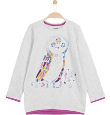 Tunika z długim rękawem dla dziewczynki 3-8 lat D62G051_1