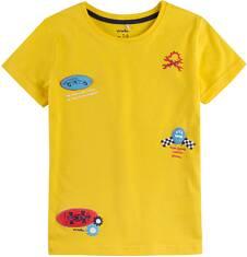 T-shirt z krótkim rękawem dla chłopca 9-13 lat C71G555_1