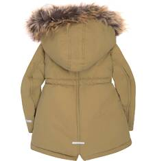 Długa parka zimowa  dla dziewczynki 2-4 lata N72A009_2