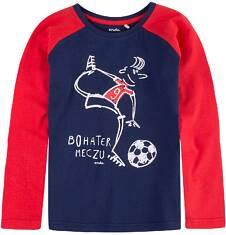 Bluza z długim z rękawem reglanowym dla chłopca 9-13 lat C71G564_1
