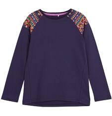 Bluzka z długim rękawem dla dziewczynki 9-12 lat D62G561_1