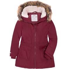 Długa kurtka zimowa dla dziewczynki 9-13 lat D72A516_1