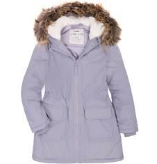 Długa kurtka dla dziewczynki 9-13 lat D72A516_2