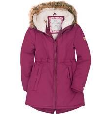 Długa parka zimowa dla dziewczynki 9-13 lat D72A512_2