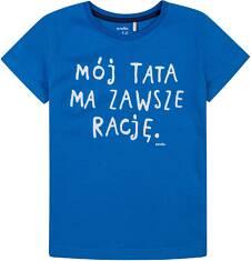 T-shirt dla chłopca 4-8 lat C71G176_1