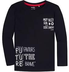 T-shirt z długim rękawem dla chłopca 3-8 lat C72G158_1