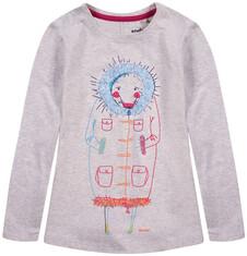 Dłuższa bluzka z długim rękawem dla dziewczynki D52G102_1