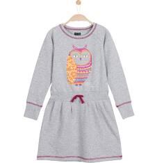 Sukienka ze ściągaczem w pasie dla dziewczynki 3-8 lat D62H031_1