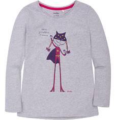 Bluzka z długim rękawem  dla dziewczynki 3-8 lat D72G072_1