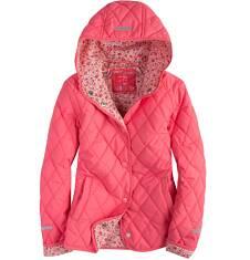 Pikowana kurtka z kapturem dla dziewczynki 9-13 lat D71A504_1