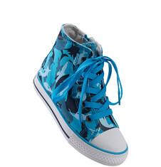 Tenisówki za kostkę w afrykański deseń dla chłopca C51O005_1