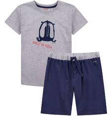 Piżama z krótkimi spodenkami dla chłopca 9-13 lat C71V502_1