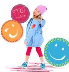 Długa parka dla dziewczynki 4-8 lat D71A011_1