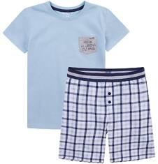 Piżama z krótkimi spodenkami dla chłopca 9-13 lat C71V504_1