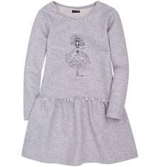 Sukienka ze srebrną nitką dla dziewczynki 3-8 lat D72H030_1