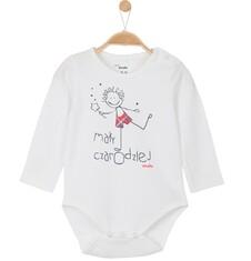 Body z długim rękawem dla niemowlaka N52M065_1