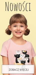 Ubranka dla dziewczynki nowości