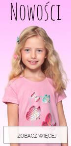 Ubranka dla dziewczynki 3-8 lat nowości