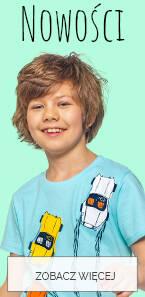 Ubrania dla chłopca nowości