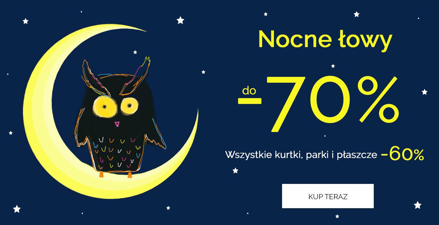 Nocne łowy -70%
