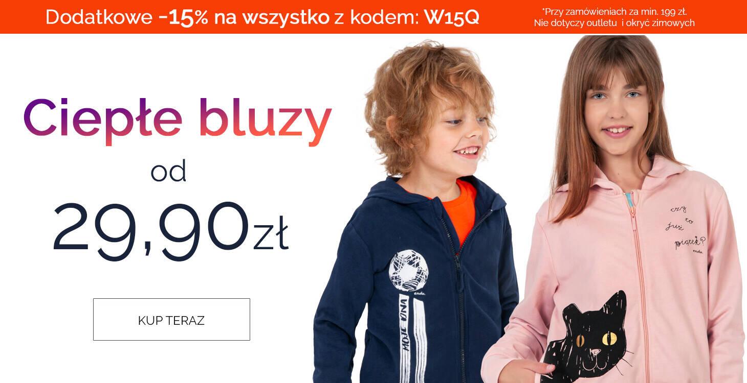 bluzy z dodatkowym kodem 15% - glowny slider