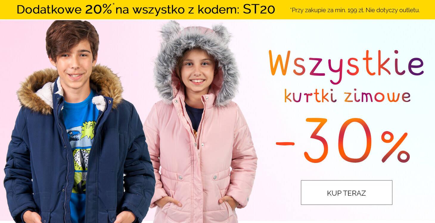 zimowe kurtki z kodem